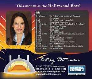 July HB schedule